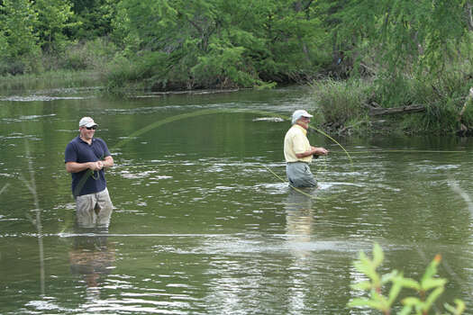 Hill country 39 s historic gruene through the years san for Guadalupe river trout fishing