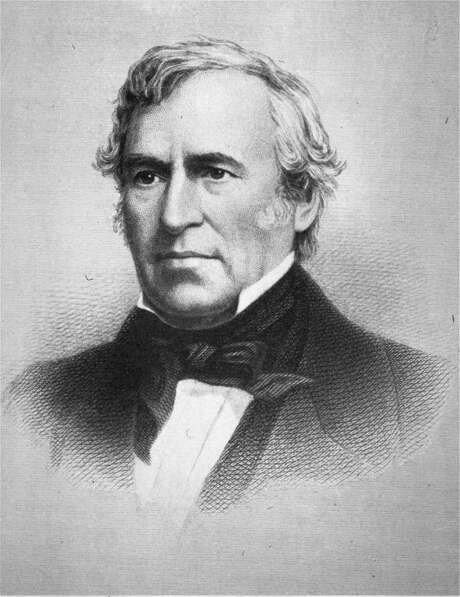 An undated portrait of the 12th president of the United States, Zachary Taylor (1849-1850).  Taylor died in office on July 9, 1850.  (AP Photo/NYPL Picture Collection) Photo: Anonymous, ASSOCIATED PRESS / NYPL, PICTURE COLLECTION