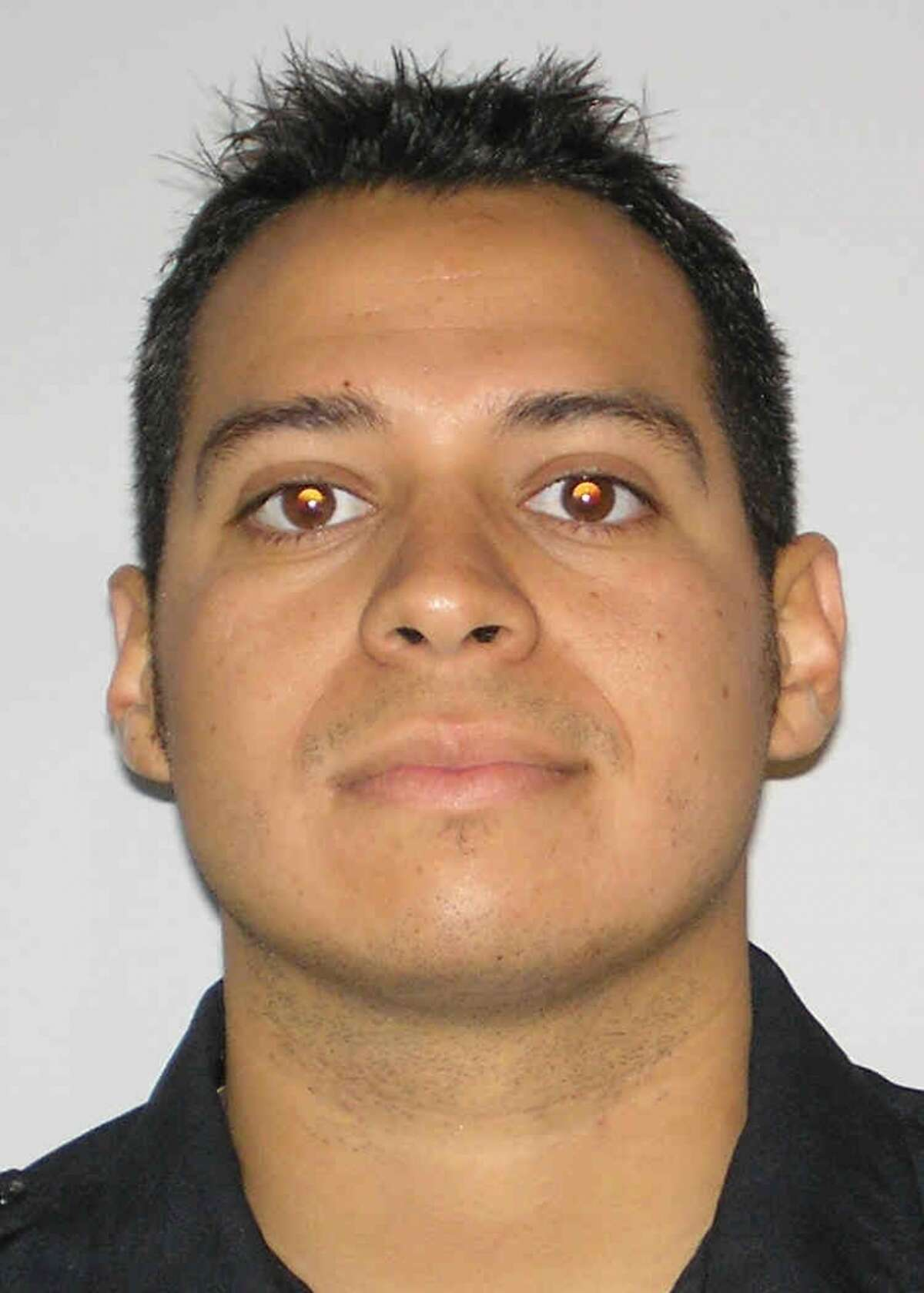 Officer Jonathan Esquivel, 28, was struck by a pickup while setting up traffic cones at a Northwest Side crash. Courtesy photo.