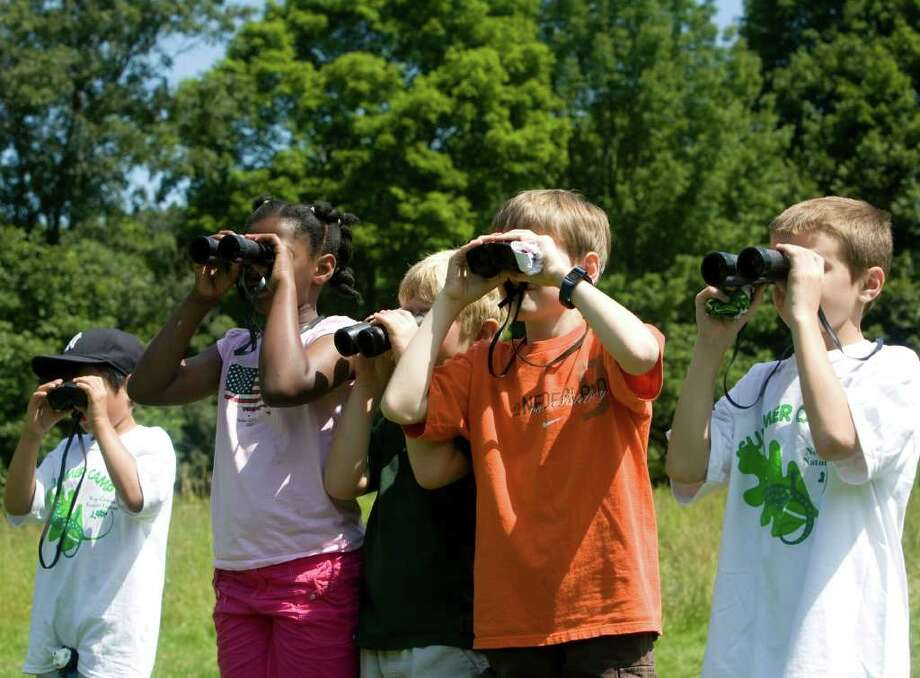 The New Canaan Nature Center offers its annual camp for kids this summer. Photo: Contributed Photo