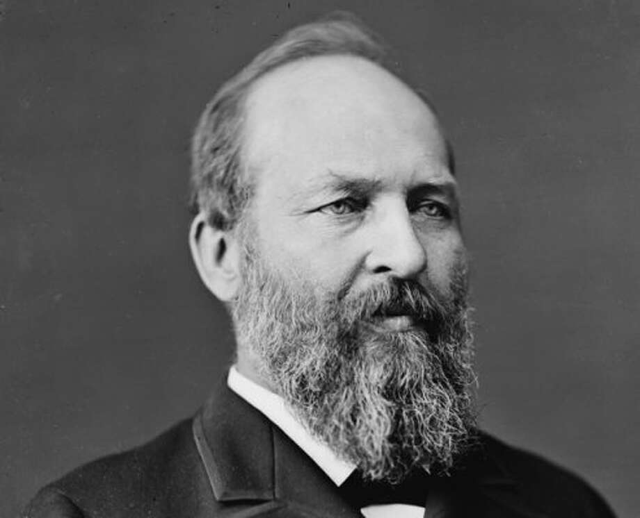 Super-brainJames A. Garfield may be the brainiest president who doesn't get the publicity he deserves. He devised a proof of the Pythagorean theorem and could hold two pens, writing in Latin with one and simultaneously in Greek with the other.