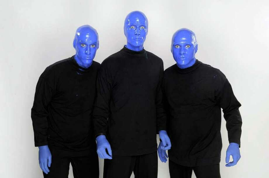 The Blue Man Group Photo: Getty Images / 2010 Getty Images