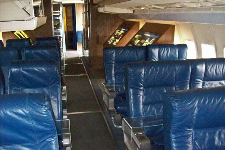 The interior of Boeing VC-137B SAM 970 is shown at the Museum of Flight, in Seattle. Photo: Museum Of Flight