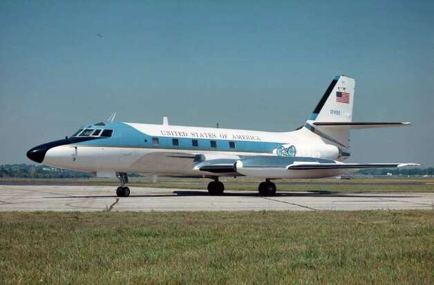 This Lockheed VC-140B Jetstar carried Presidents Richard Nixon, Gerald Ford, Jimmy Carter and Ronald Reagan a number of times. It ended its 26 years of service when it was flown to the National Museum of the U.S. Air Force on July 16, 1987. Photo: U.S. Air Force
