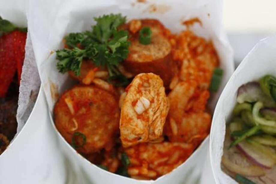 Chicken, Sausage, and Shrimp Jambalaya from Zac Brown Band