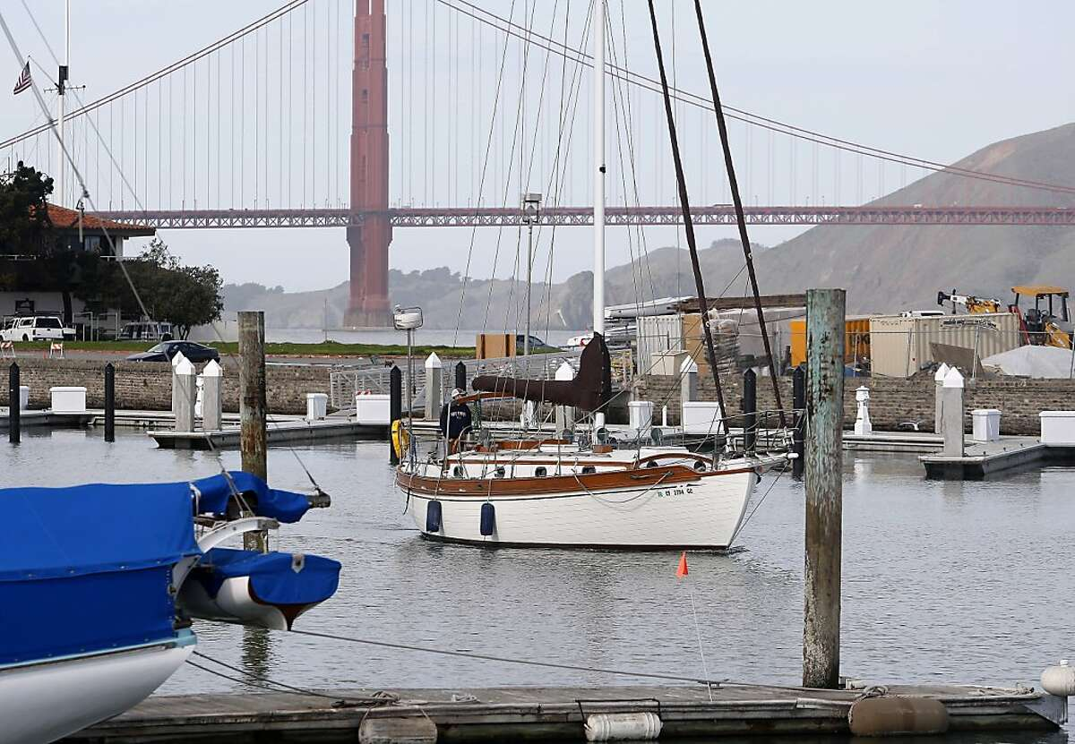 Boats float in and out of the city-owned marina on Saturday, February 18, 2012. San Francisco's Recreation and Park Department is proposing new rules for using the marina.