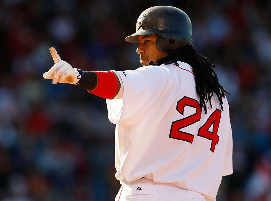 Former major league outfielder Manny Ramirez has agreed to terms with the Kochi Fighting Dogs of Japan's independent Shikoku Island League. Photo: Jim Rogash, Getty Images