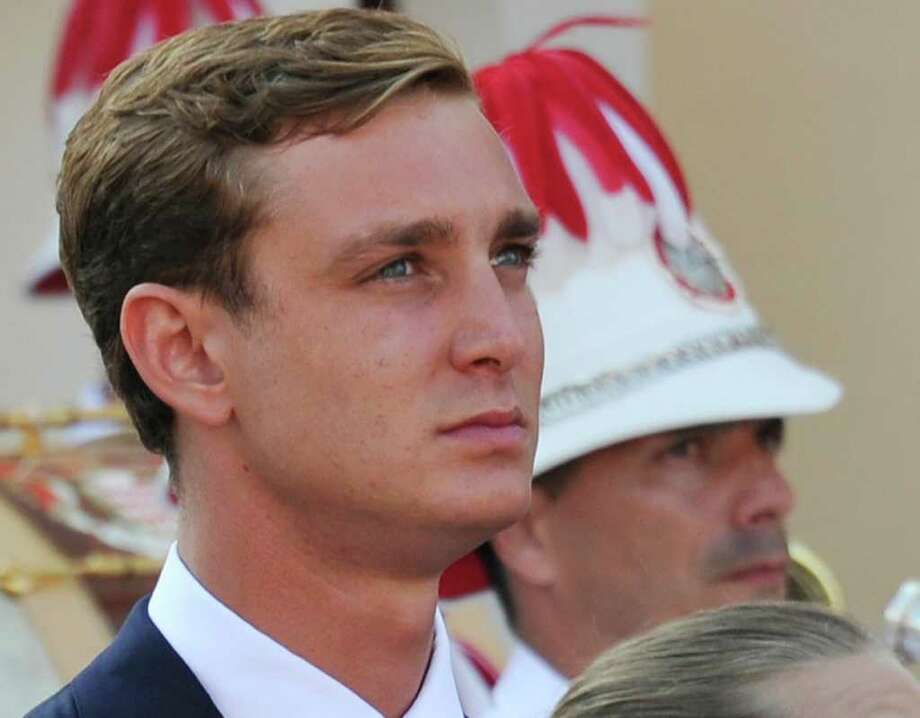 FILE - In this July 1, 2011 file photo, Prince Pierre Casiraghi, grandson of the late Princess Grace of Monaco, attends the 'presents' ceremony for Prince Albert II of Monaco and Princess Charlene in front of the Princier Palace in Monaco. Casiraghi was briefly hospitalized after a brawl in a New York City nightclub on Saturday, Feb. 18, 2012. Photo: AP
