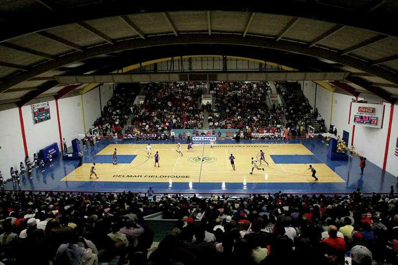 2/20/12: A full house watch  Yates against  Wheatley at Delmar Fieldhouse in Houston, Texas. For the
