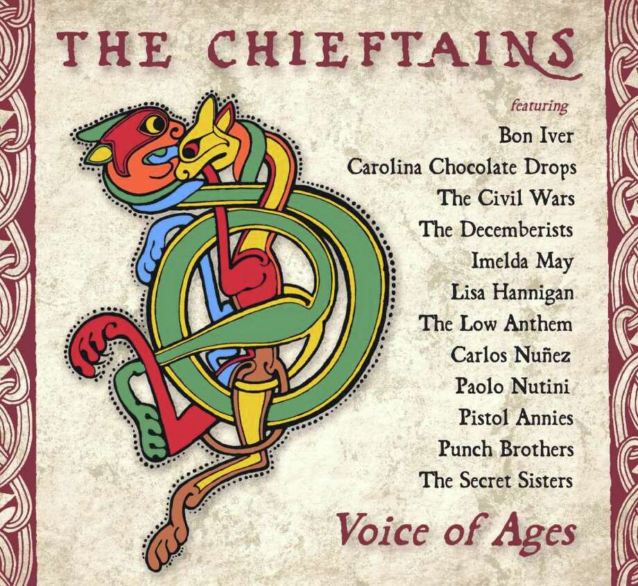 "Cover of ""Voice of Ages,"" the Chieftains' 50th anniversary album featuring an array of guest stars Photo: Shore Fire Media"