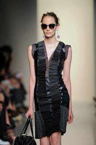 This look from the ready to wear Spring Summer 2012 collection of Bottega Veneta would work for the Girl with the Dragon Tattoo / The Gril with the Dragon Tattoo