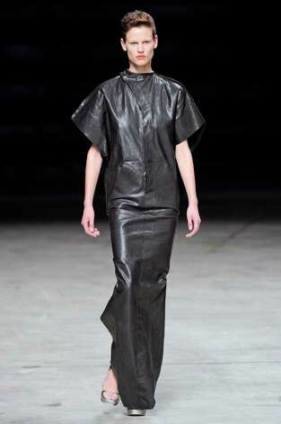 This look from the ready to wear spring summer 2012 colleciton of Rick Owens would suit the Girl with the dragon tattoo. / The Girl with the dragon tattoo