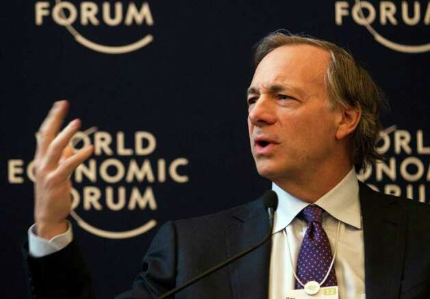 Ray Dalio, founder and co-chief investment officer of Bridgewater Associates, USA, speaks during a panel session on the first day of the 42nd annual meeting of the World Economic Forum, WEF, in Davos, Switzerland, Wednesday, Jan. 25, 2012. (AP Photo/Anja Niedringhaus) Photo: Associated Press / AP