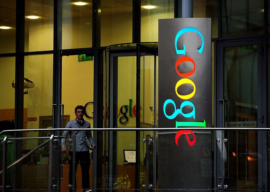 Google is one of the U.S. companies that are snapping up office space in Ireland, attracted by low commercial property rents and labor costs. Photo: Aidan Crawley, Bloomberg