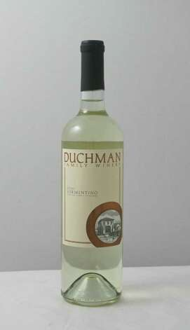 (For the Chronicle/Gary Fountain, February 15, 2012)  Duchman Family Winery 2010 Vermentino. Photo: Gary Fountain / Copyright 2012 Gary Fountain.