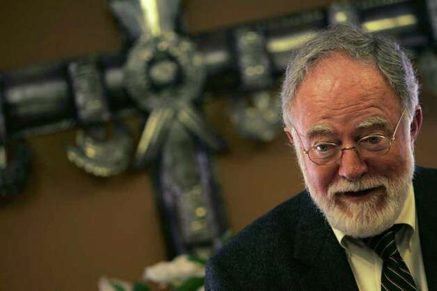 The Rev. Joe Sullivan is on record opposing gay marriage. Photo: LISA KRANTZ, SAN ANTONIO EXPRESS-NEWS / SAN ANTONIO EXPRESS-NEWS