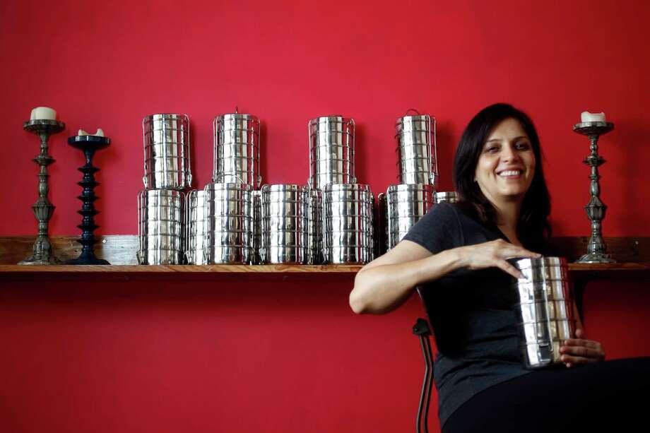 Anita Jaisinghani at Pondicheri. Photo: Karen Warren / © 2011 Houston Chronicle