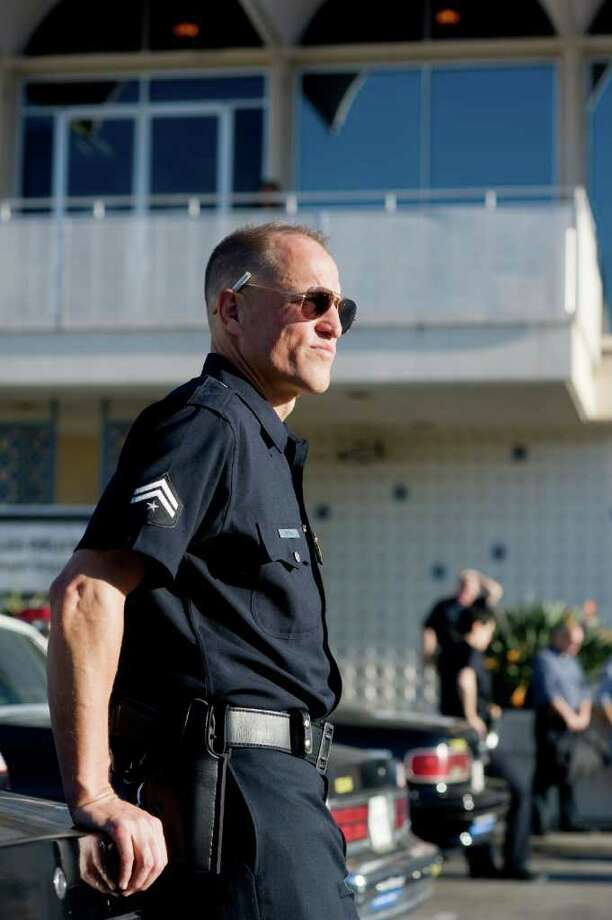 Woody Harrelson plays a not-so-honest cop in Rampart. / Millennium Entertainment