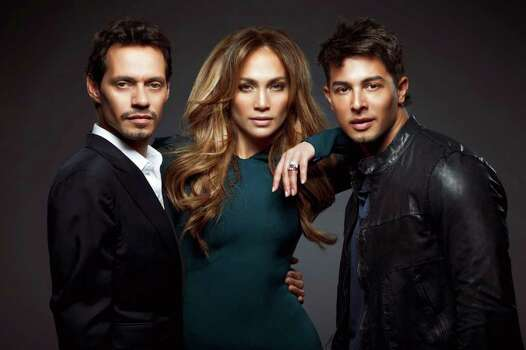 Q'Viva stars Marc Anthony, Jennifer Lopez and Jamie King