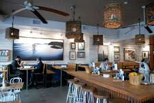The dining room at bartaco restaurant in Stamford, Conn. on Monday January 30, 2012.