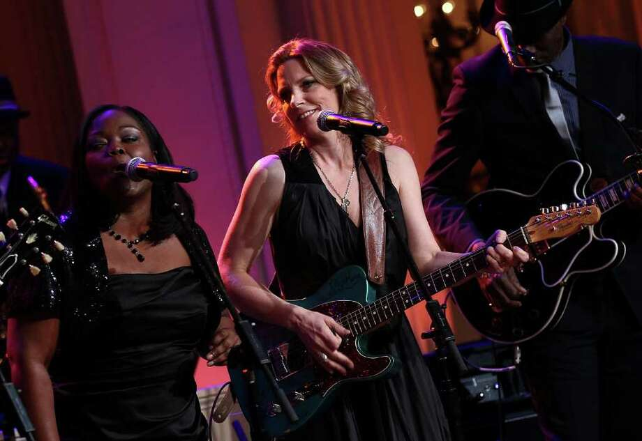 Susan Tedeschi played a White House event titled In Performance at the White House: Red, White and Blues. Photo: Win McNamee / 2012 Getty Images