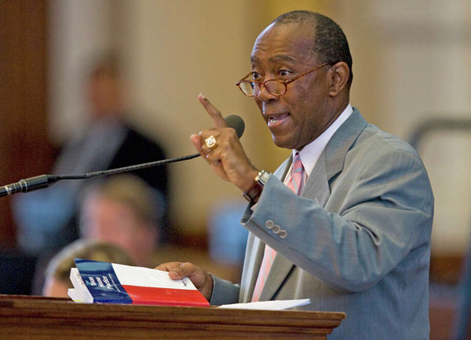 Houston Mayor Sylvester Turner, shown here as a state representative in 2009, will be on the other side of the table in the Senate Monday as the State Affairs Committee takes up the city's pension reform plan for the first time. Jay Janner/AMERICAN-STATESMAN -  Photo: Jay Janner, Wire / Austin American-Statesman