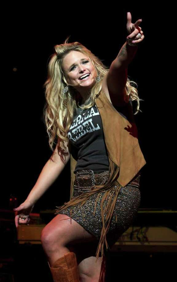 Miranda Lambert is proud of her Texas roots. Photo: TOM REEL, San Antonio Express-News / San Antonio Express-News