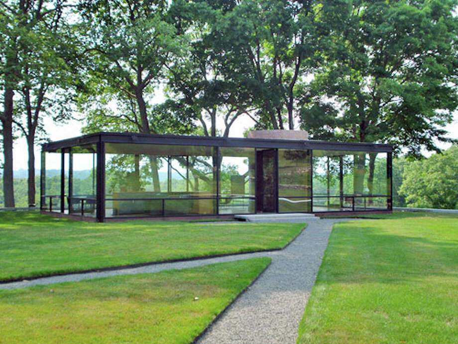 Henry Urbach, the new director of the Philip Johnson Glass House, shown above, will be the first to live on the compound. Photo: Contributed Photo