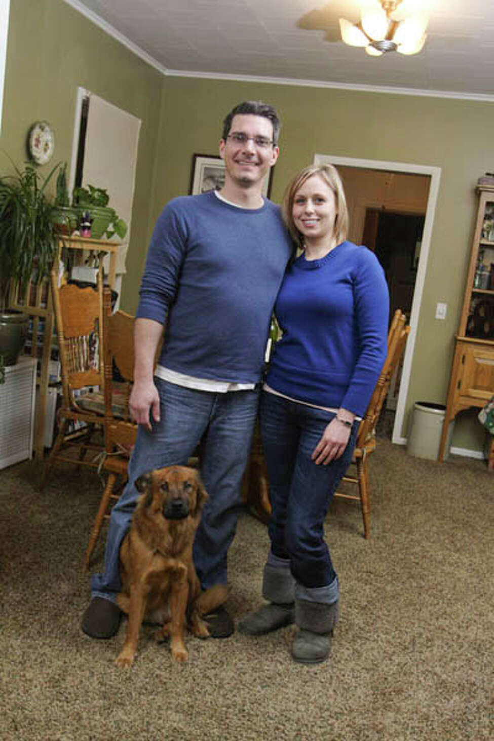 Executive chef at Creo, Brian Bowden shares a modest Troy apartment with his girlfriend Carly Mankouski and their dog, Ralph. He says his kitchen is the best of anyplace he's ever lived. Read the story here Get the Chef's recipes here