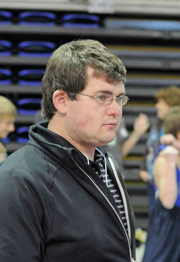 Clear Brook wrestling coach Ryan Denny Photo: L. Scott Hainline / freelance