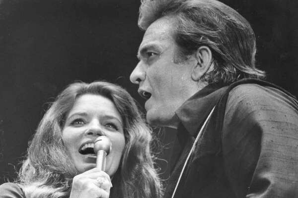 June Carter Cash and Johnny Cash drew a total of 160,475 fans for the duo's six rodeo performances.