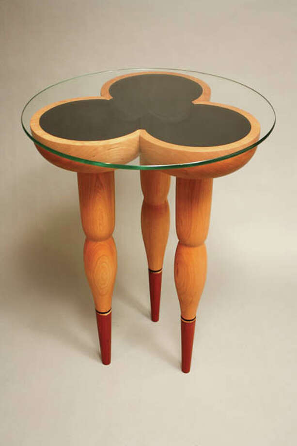 Sculptor and craftsman Peter Leue turns everyday objects into whimsical furniture and works of art. Read the story here Photo: (Photo By Nancy M. Burton)