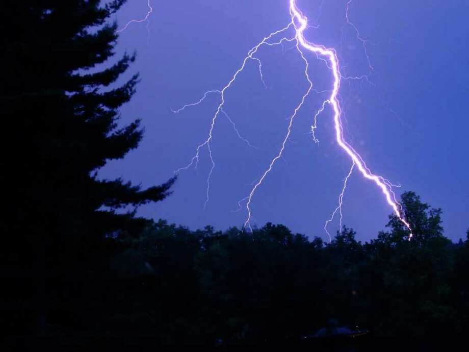 The New Canaan Board of Selectmen unanimously approved the purchase of a $73,474 lightning detection system for the town's public fields. Photo: Contributed Photo
