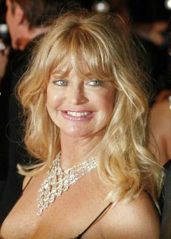 "Goldie Hawn arrives for the screening of the film ""Death Proof,"" at the 60th International film festival in Cannes, southern France, in this  May 22, 2007, file photo. Photo: Andrew Medichini, AP / AP"