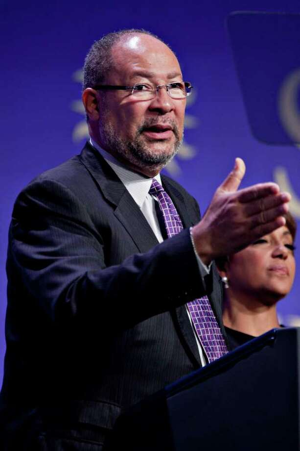 Richard Parsons, chairman of Citigroup Inc., speaks at the groundbreaking of the Smithsonian National Museum of African American History and Culture in Washington, D.C., U.S., on Wednesday, Feb. 22, 2012. The museum is scheduled to open in 2015 and will be the only national museum devoted exclusively to the documentation of African American life, art, history and culture. Photographer: Andrew Harrer/Bloomberg *** Local Caption *** Richard Parsons Photo: Andrew Harrer, Bloomberg / © 2012 Bloomberg Finance LP