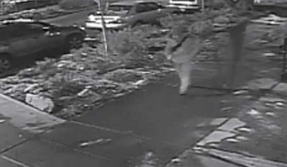 Darek Darewski is seen walking on Harvard Avenue shortly before he was shot dead near Seattle Central Community College. Police are now searching for a white sedan seen leaving the area, as well as any witnesses to the shooting. Photo: Courtesy Of Seattle Police