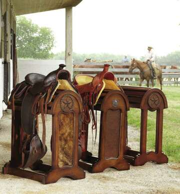 Historic King Ranch Saddle Shop sets up outpost in