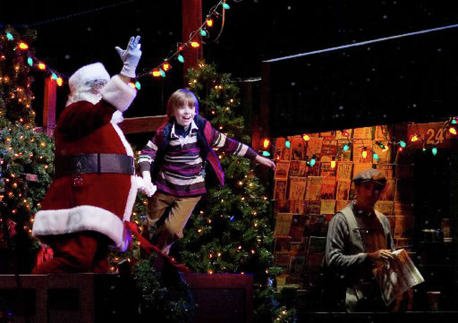 As a 10 year old, Trevor leared to fly --- with a little technical help from cables and pulleys --- in the 2007 Radio City Music Hall Christmas Show. Photo: File Photo