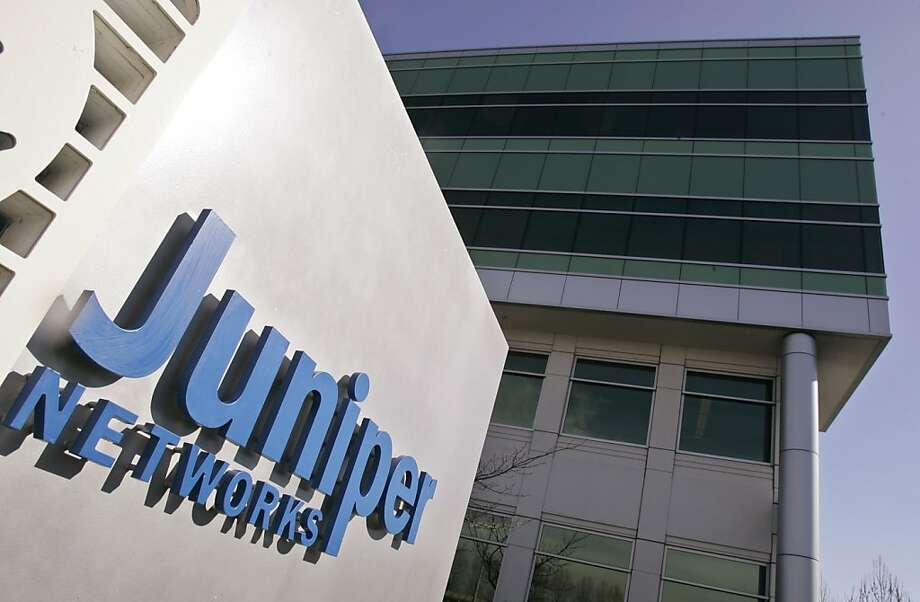 Juniper Networks reported revenue of $1.03 billion and earnings of 3 cents per share for the quarter. Photo: Paul Sakuma, AP