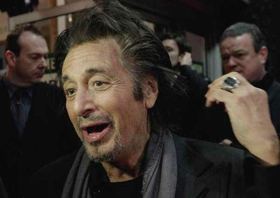 Al Pacino Photo: Niall Carson, Site / PA