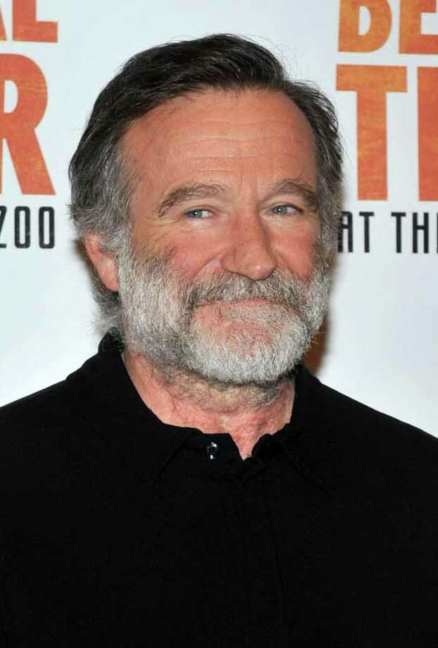 """In 2006, actor and comedian Robin Williams publicly admitted his battle with alcoholism and checked himself into rehab. Several years later, Williams' representative said the actor returned to rehab to """"fine-tune and focus on his continued commitment"""" to staying sober. He died a little more than a month later. Photo: Henry S. Dziekan III, Site / Getty Images North America"""