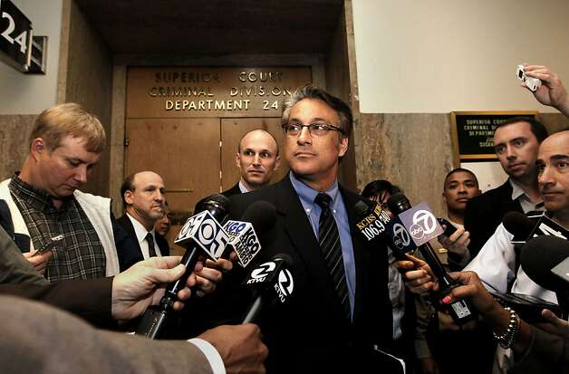 San Francisco Sheriff, Ross Mirkarimi leaving Department 24, after making a pre-trial court appearance at the Hall of Justice, San Francisco, Ca., on Wednesday Feb. 22 2012. Photo: Michael Macor, SFC