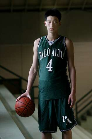 Chronicle boys basketball player of the year Jeremy Lin of Palo Alto High School plans to attend Harvard and play basketball.   Brant Ward3/29/06 Photo: Brant Ward, The Chronicle