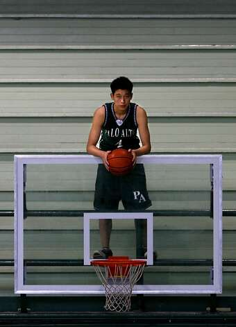 Chronicle boys basketball player of the year Jeremy Lin of Palo Alto High School plans to attend Harvard and play basketball. Photo: Brant Ward, The Chronicle