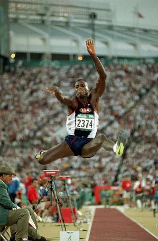 Carl Lewis –  Please don't ask him to sing, but don't ever question the credentials of this University of Houston alumnus as the greatest track and field athlete in Olympic history (nine gold medals, one bronze).