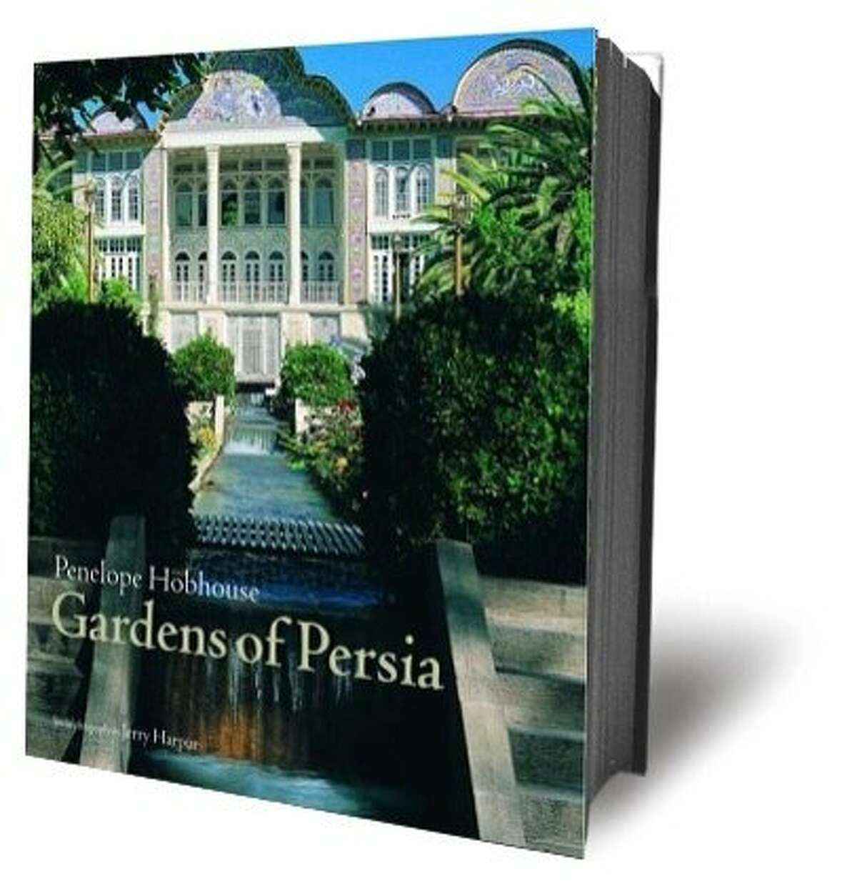 """Book cover of """"Gardens of Persia"""""""
