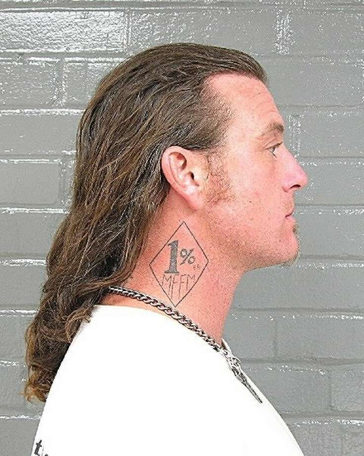 Christopher Ablett, convicted of murder in the Sept. 2, 2008, killing of SF Hells Angels leader Mark Guardado. Photo: Police Department, Bartlesville