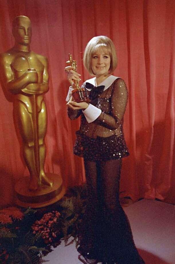 Barbra Streisand, 1969. Photo: AP