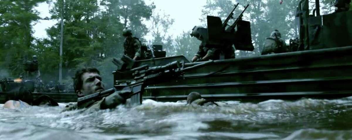 """Act of Valor"" A story about elite Navy SEALs on a treacherous mission. Budget: $12 million U.S. box office: $81 million"