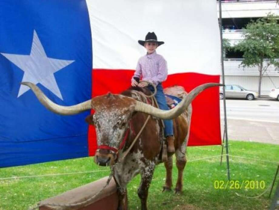 Aaron- Go Texan Day! (Gretah / chron.com)